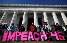 Women's March around the world and across the US - January 21, 2018.  People participate in the second annual Women's March in Washington on Jan. 20.