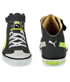 Puma Mens Gray Casual Shoes