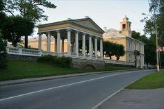 Pavillon des Trois Grâces - Pavlovsk - Construit en 1800 par Charles Cameron