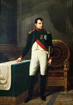 Portrait of Napoleon Bonaparte - When Napoleon sold Louisiana back in the day, it stretched from Mexico to Canada. Price - $15,000,000 Napoleon was later defeated by a self educated slave Toussaint L'Ouverture.