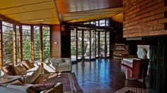Hanna-Honeycomb House, Stanford University CA | Frank Lloyd Wright | Image : sswj