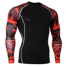 Item Type: ShirtsSport Type: Martial ArtsFeature: Anti-Pilling,Anti-Shrink,Anti-Wrinkle,CompressedGender: MenFabric Type: KnittedMaterial: Polyester,SpandexSlee