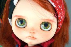 OOAK Custom Blythe doll  Mackenzie by ShabbyVillageBunny on Etsy