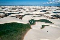 Photo and caption by giordano cipriani Lençóis Maranhenses National Park, Brazil Location: Maranhão, Brazil