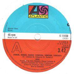 "Chic - Dance Dance Dance / Sao Paulo 1977 7"" vinyl single record K11038 Ex Listing in the Vinyl,Music & CD Category on eBid United Kingdom | 167749138"