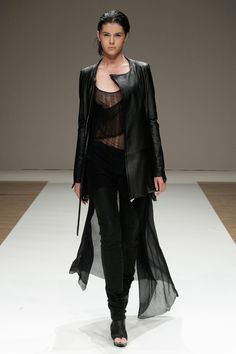 Liberum Arbitrium / Spring 2012 #black #fashion #runway