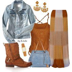 """Fall Fashion"" by lindakol on Polyvore"