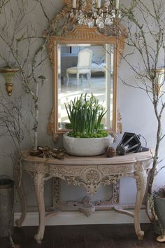 Love this but I would do mine more rustic, french country....