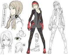 character design vs layout design - Google Search