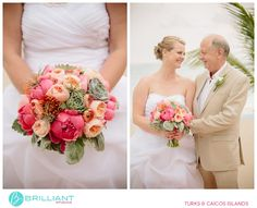 Flowers by EA in Turks and Caicos. Images by Craig Bruce at Brilliant Studios.