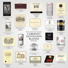 we're taking a closer look at the defining traits of top Cabernet Sauvignon based red wine brands. Learn to identify great Cabernet based red wine.