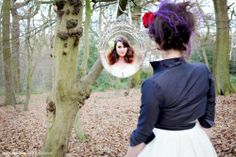cool ideas for photo shoots | Snow White wedding photo shoot. So cool! | Themed Session Ideas