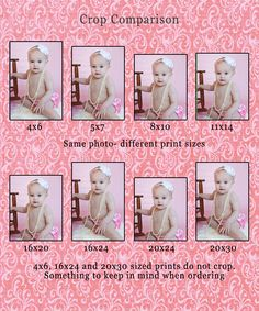 CLIENTS:    This shows you a little bit of how/why images are cropped depeding on your chosen size.  SO HELPFUL!