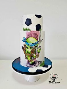Ninja turtle  by MOLI Cakes