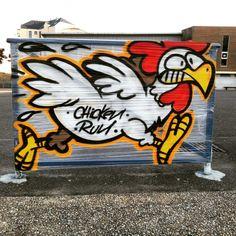 Chicken run by Ansher