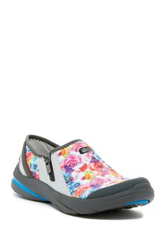 Lifetime Floral Slip-On Sneaker - Wide Width Available