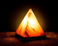 The flaming Pyramid Himalayan salt lamp   http://himalayansaltlamp.org/pyramid-himalayan-salt-lamp/