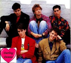 Love this. NKOTB!  Jordan was my husband back in the day!!! Loved his dark hair and gorgeous brown eyes!!!