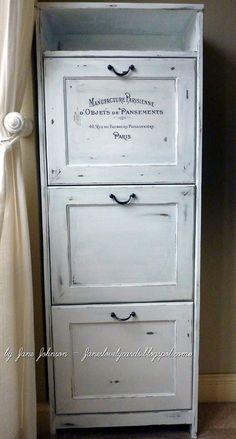 Annie Sloan Chalk Paint Furniture Cabinet