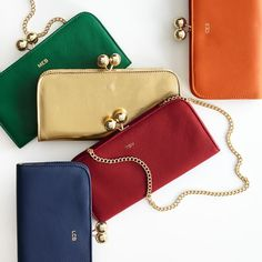 the perfect little stylish wallet for wherever the night takes her