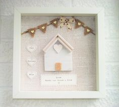 Personalised Family Home http://www.withtheselillywhites.com/gallery/personalised/family/home New Home/Our Family Keepsake Personalise with names