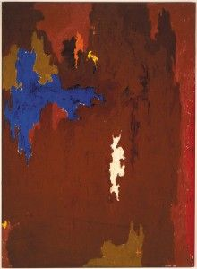 Clyfford Still January 1950-D support : 94 x 69 inches. Albright-Knox Art Gallery