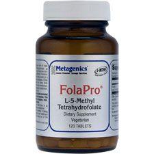 FolaPro, 120 Tablets, Metagenics