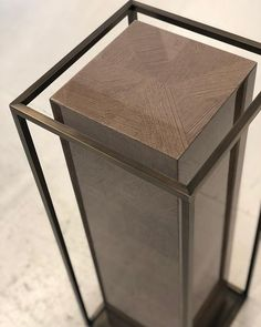 Checking on some of the bespoke furniture for our upcoming Knightsbridge project and couldn't be happier with these artwork plinths we've… Bespoke Furniture, Furniture Design, Furniture Decor, Display Pedestal, Pedestal Stand, Sculpture Stand, Futuristic Furniture, Showroom Design, Stand Design