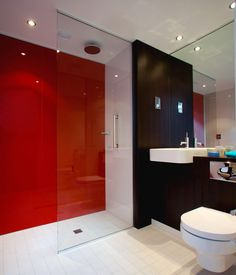 Bring colour to your bathroom.