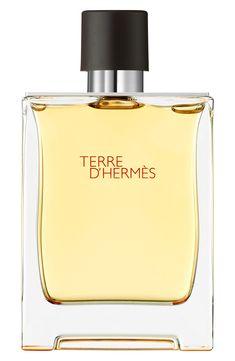 Hermes Terre d'Herm&s & Pure Perfume Natural Spray, oz./ 198 mL Perfume And Cologne, Perfume Bottles, Perfume Fragrance, Parfum Chloe, Hermes Parfum, Miniature Bottles, Pure Products, Beauty Products, Origins