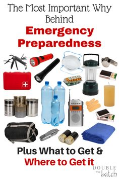 Emergency Preparedness: What to Get, Why, and Where - Double the Batch