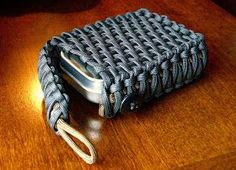 Stormdrane's Blog: Survival Tin/Playing Card EDC Paracord Pouch...