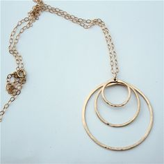 We love this elegant necklace from Facets Jewelry - timeless and so delicate.