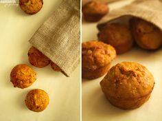 Muffiny dyniowe z białą czekoladą