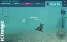 An amazing set of resources to explore the world's oceans in a 3D virtual environment. Swim with killer whales or drift along and watch sea turtles cruise by. You can even complete missions, including exploring the deepest place in the oceans.