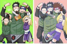 Naruto Pinning Challenge, Day 3, favourite team: Team Asuma