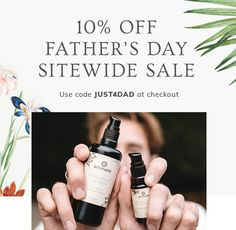 #AnnMarieSkincare is ready to celebrate Father's Day - so they're offering 10% off full-size products and accessories with the code JUST4DAD at checkout, just in case he deserves clean, effective skincare. Organic Beauty, Organic Skin Care, Natural Beauty, Cleanser, Moisturizer, Clean Beauty, Just In Case, Fathers Day, Skincare