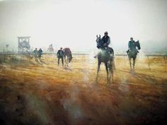 galleries that show the works of Joseph Zbukvic, master watercolor painter
