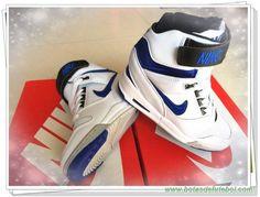 tenis barato Mulheres 599410-104 Branco/Azul Nike WMNS Air Revolution Sky Hi