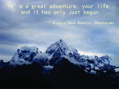 Shataram quote