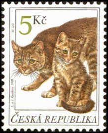 Postage stamp - Czech Republic - 1999