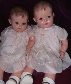 2 Ideal Sisters Forever Baby Composition Dolls