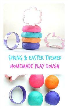Spring & Easter playdough
