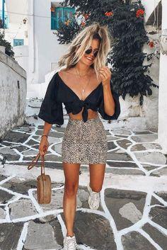 summer fashion Dicas de Looks de Vero com Tnis - peas fresquinhas e leves e mais dicas de como se vestir no vero Mode Outfits, Trendy Outfits, Hipster Outfits, Skirt Outfits, Mode Ootd, Outfit Trends, Looks Style, Mode Inspiration, Summer Looks
