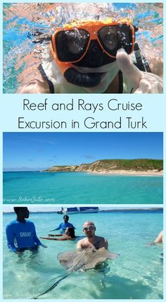 Reef and Rays Cruise Excursion in Grand Turk by SoberJulie ~ Cruising with Carnival? Check out this excursion. It should be on your travel list! Beach, bliss..