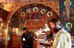 The Church, through the church and Divine service, acts upon the... #Orthodoxy…