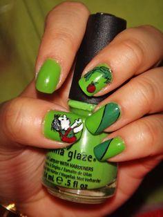 """Pretty pretty nails """"The Giving Tree"""""""