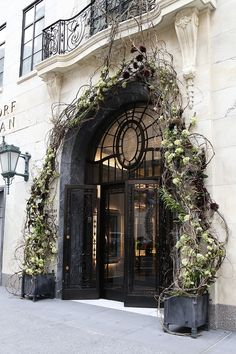 A collaboration with Bergdorf Goodman for the launch of the new main floor. & Old doors old floors | First Impressions: Doors windows gates ...
