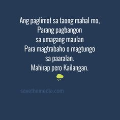 Broken Heart Quotes Tagalog - Save the Media