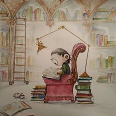 Little Loki at the Library
